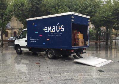 Nuevo camión de Emaús