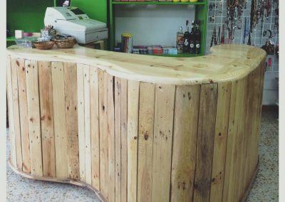 Mostrador tienda Gijón