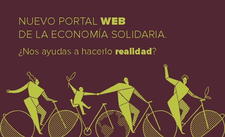 La economía solidaria lanza un crowdfunding para renovar su web
