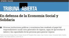 """Comunicado: """"En defensa de la Economía Social y Solidaria"""""""