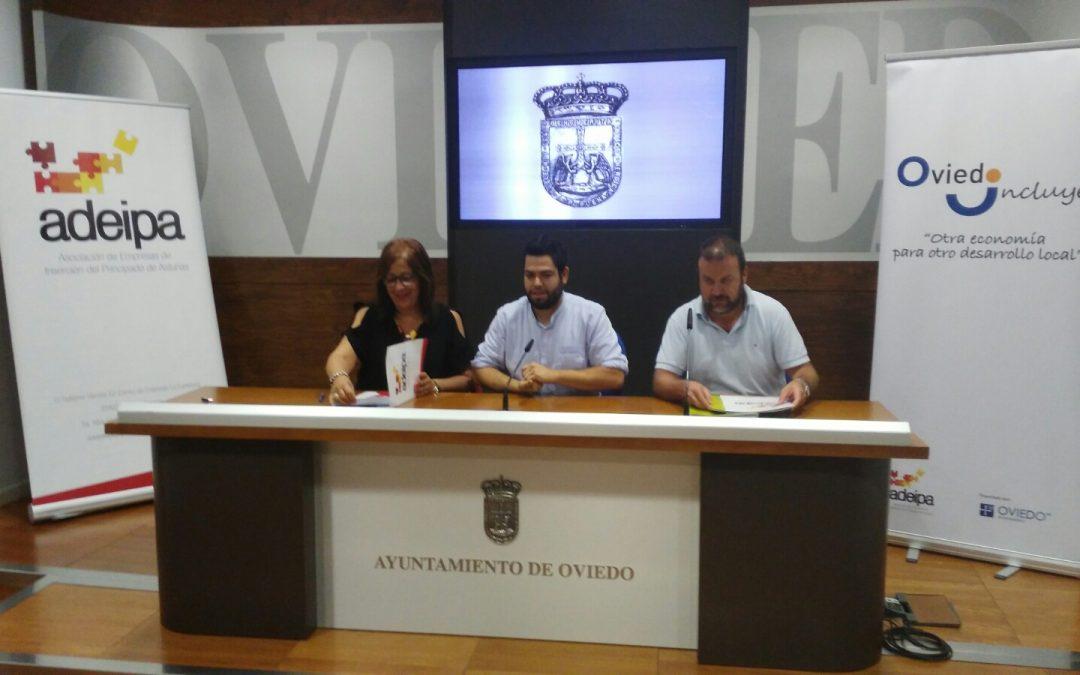 """ADEIPA y el Ayuntamiento de Oviedo presentan """"Oviedo Incluye"""""""