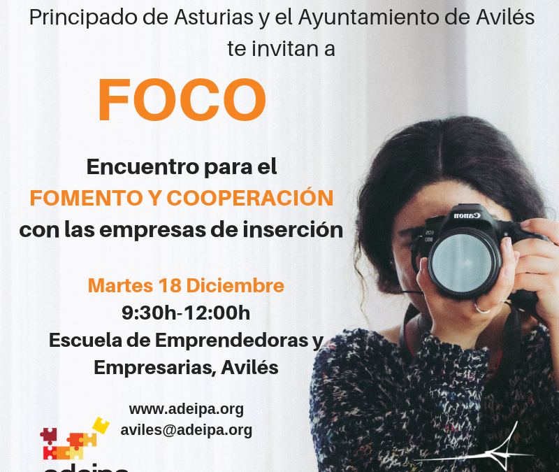 Encuentro FOCO cooperación empresarial en Avilés