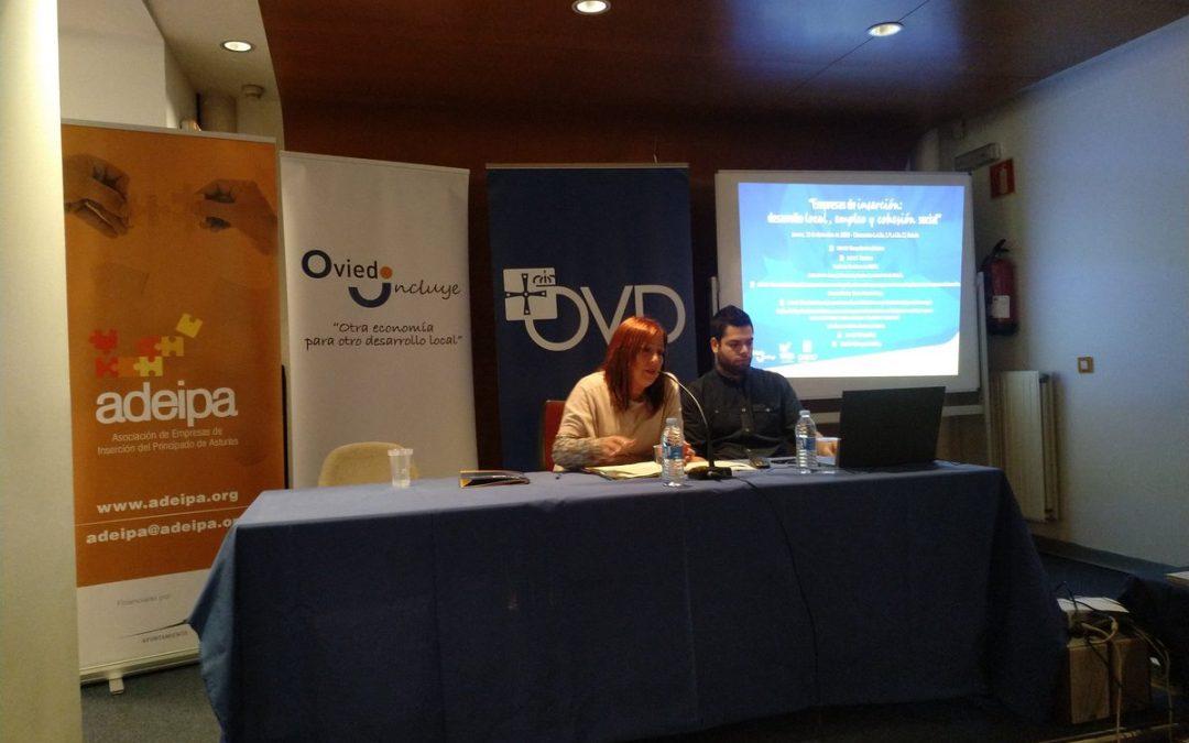Jornada sobre empresas de inserción en Oviedo Incluye