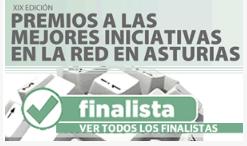 Nuestra web, finalista en XX Premios a la mejor web de Asturias de El Comercio