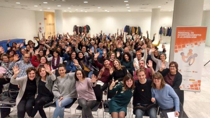 Más de 100 profesionales de las empresas de inserción se reúnen en Oviedo.