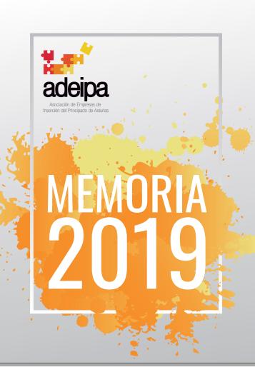 Memoria y balance social 2019 de las empresas de inserción asturianas