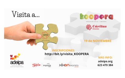 Visita a Cáritas Koopera