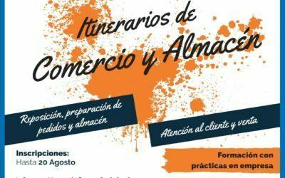 """Abierto el plazo de solicitud para participar en los itinerarios """"Comercio"""" y """"Almacén"""" de Oviedo Incluye"""